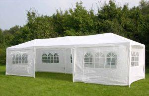 Partyzelt 24 - großes Zelt mit Fenstern kaufen