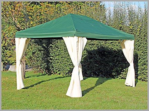 newest 098ac ade3c Pavillon Partyzelt 3×4 m, wasserdicht, Sahara grün